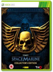warhammer 40.000: space marine collectors edition - xbox 360