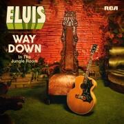 elvis presley - way down in the jungle room - cd