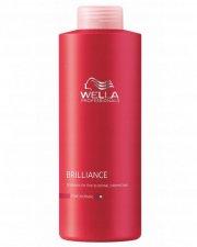 wella professionals - brilliance shampoo for fint og farvet hår 1000 ml. - Hårpleje
