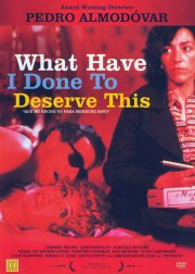 what have i done to deserve this - DVD