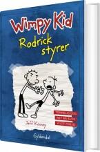 wimpy kid 2 - rodrick styrer - bog