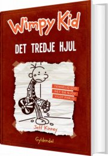 wimpy kid 7 - det tredje hjul - bog