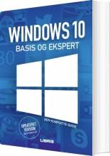 windows 10 bogen basis og ekspert - bog
