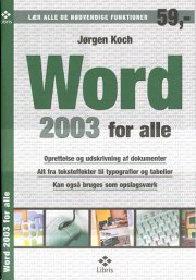 word 2003 for alle - bog