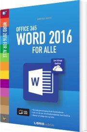 word 2016 for alle - bog