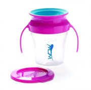 wow spildfri kop / drikkekop til baby - pink - Babyudstyr