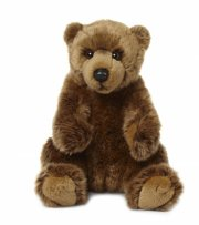 wwf - grizzly bjørn - 23 cm - Bamser