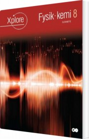 xplore fysik/kemi 8 elevhæfte - pakke á 25 stk - bog