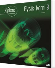 xplore fysik/kemi 9 elevhæfte - pakke a 25 stk - bog