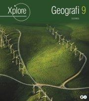 xplore geografi 9 elevhæfte - pakke a 25 stk - bog