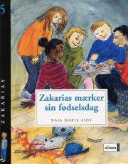 zakarias mærker sin fødselsdag - bog