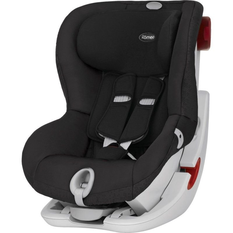 britax r mer britax romer autostol king ii sort 9. Black Bedroom Furniture Sets. Home Design Ideas
