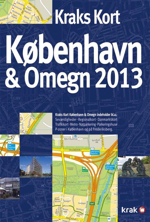 Kraks Kort København & Omegn 2013 → Køb bogen billigt her