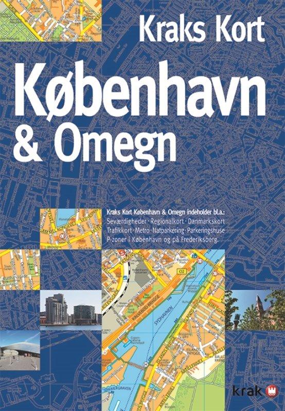 Kraks Kort København & Omegn → Køb bogen billigt her