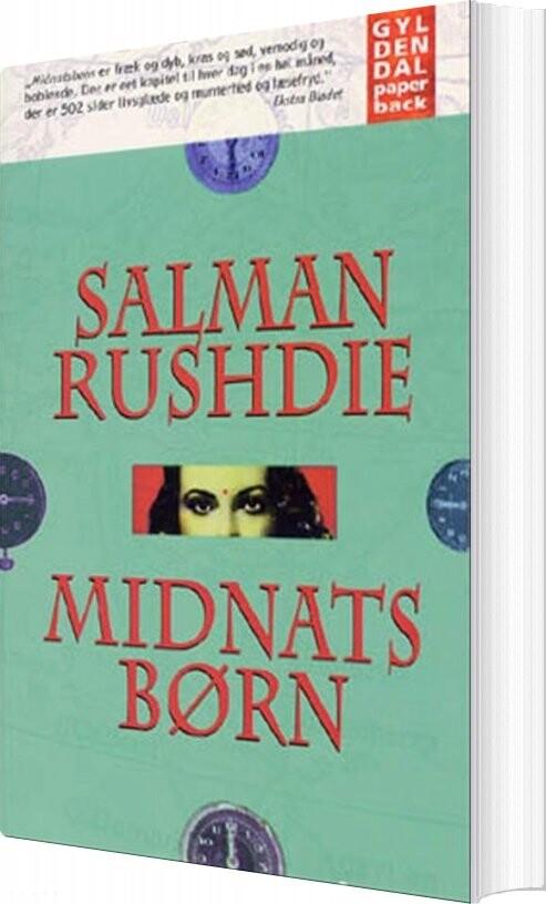 Salman Rushdie - Midnatsbørn - Bog