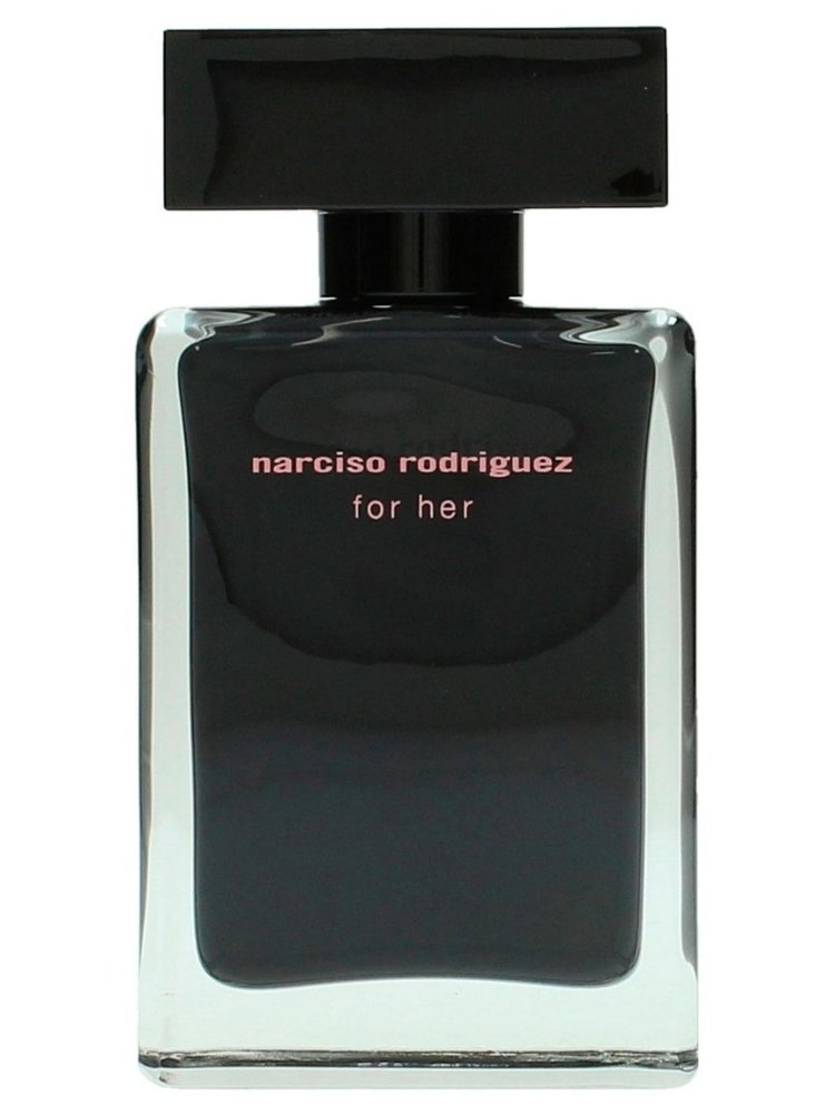 narciso rodriguez for her 50 ml edt k b billigt her. Black Bedroom Furniture Sets. Home Design Ideas