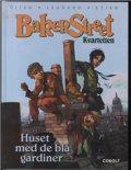 Image of   Bakerstreet Kvartetten: Huset Med Det Blå Gardin - J.b. Divan - Tegneserie