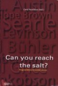 can you reach the salt? - bog