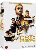 c.s.i. miami - sæson 6 - box - DVD
