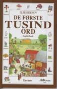 de første tusind ord - engelsk/dansk - bog