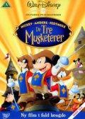 disney de tre musketerer - DVD