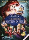 den lille havfrue - historien om ariel - disney - DVD