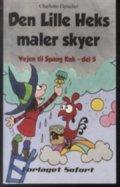 den lille heks maler skyer - bog