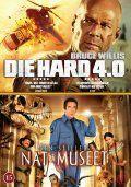 nat på museet // die hard 4.0 - DVD