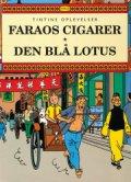 faraos cigarer den blå lotus - Tegneserie