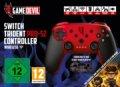 90774303 Gamedevil Switch Trident Pro-S2 Controller Wireless - Rød