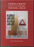 grønlandsk kultur og samfundsforskning 2008-09 - bog