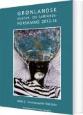 grønlandsk kultur- og samfundsforskning 2013-14 - bog