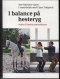 i balance på hesteryg - bog