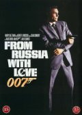 james bond: from russia with love / james bond: jages - DVD