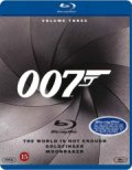 james bond - goldfinger // the world is not enough // moonraker - Blu-Ray