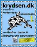 krydsords- og sudokubogen nr. 1 á 10 stk - bog