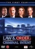 law and order - criminal intent - sæson 1 - DVD