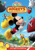 mickeys klubhus / mickey mouse clubhouse - mickeys store klubhus jagt - DVD