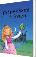 prinsessen og frøen - bog
