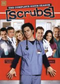 scrubs - sæson 6 - DVD