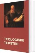 teologiske tekster - bog