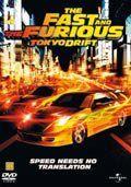 fast and furious 3 - tokyo drift - DVD