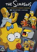 the simpsons - sæson 8 - collectors edition - DVD