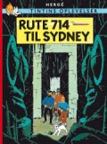 tintins oplevelser: rute 714 til sydney -, standardudgave ny oversættelse - Tegneserie
