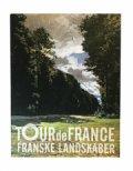 tour de france. franske landskaber - bog