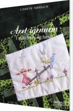 året igennem i stitchery og farve - bog
