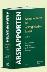 årsrapporten. kommentarer til årsregnskabsloven - bog