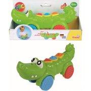 krokodille - hjul og lyd - Babylegetøj