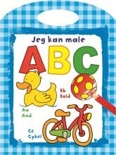 abc malebog med bogstaver - inkl. håndtag - Kreativitet