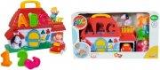 abc aktivitetslegetøj til baby - bondegårds puttekasse - Babylegetøj